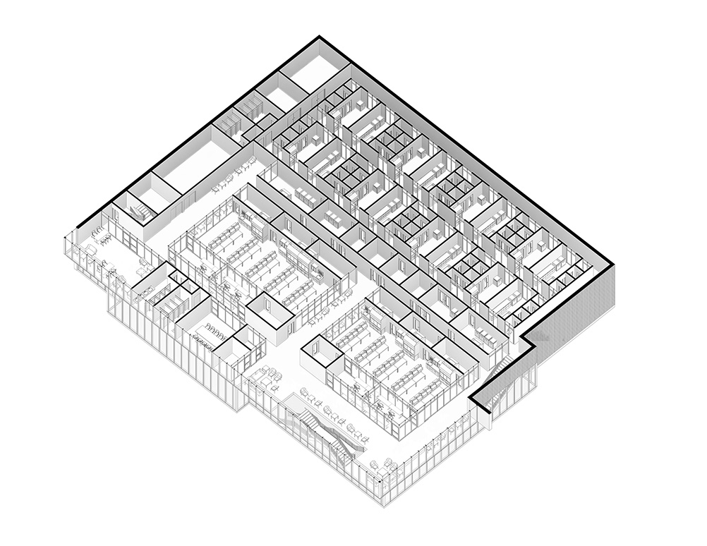 Biotech Level 2 Blueprint Floor Map