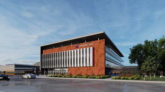 MIP exterior building